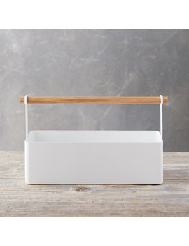 White Steel Caddy by Terrain