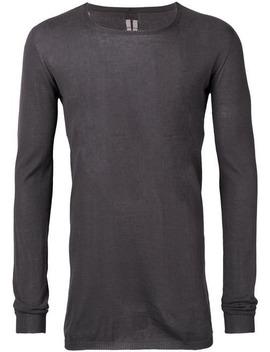 Lightweight Sweater by Rick Owens