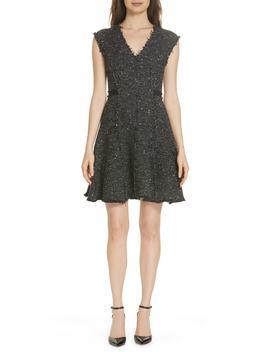 Sparkle Stretch Dress by Rebecca Taylor
