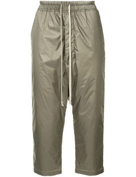 Drop Crotch Cargo Trousers by Rick Owens
