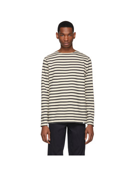 Off White Godtfred Classic Compact Long Sleeve T Shirt by Norse Projects