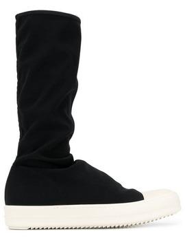 Sneaker Style Booties by Rick Owens Drkshdw