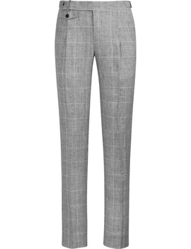 Light Grey Brentwood Trousers by Suitsupply