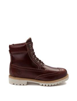 Mens Timberland Icon 6 Inch Brogue Boot by Timberland