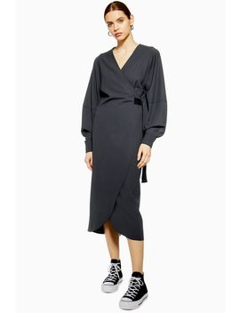 **Wrap Midi Dress By Boutique by Topshop