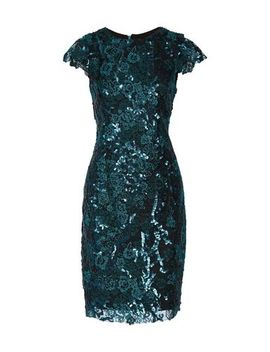 Badgley Mischka Knee Length Dress   Dresses by Badgley Mischka