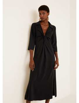 Knotted Long Gown by Mango