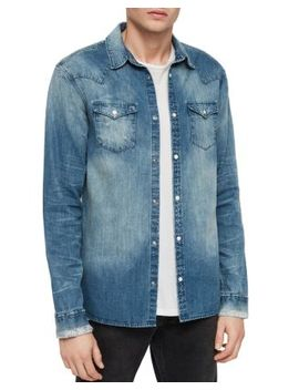 Izak Denim Shirt by Allsaints