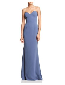 Myra Strapless Sweetheart Gown   100 Percents Exclusive by Katie May