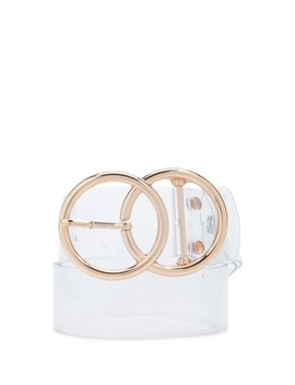 Clear Waist Belt by Forever 21