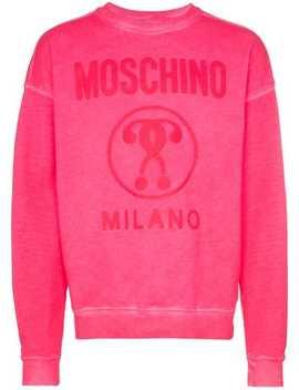 Logo Sweatshirt by Moschino