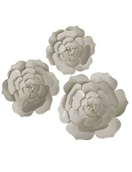 Floral Metal Wall Art Set Of 3 by Pier1 Imports