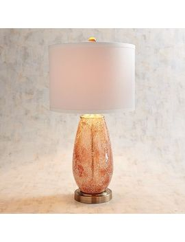 Elena Blush Mosaic Table Lamp by Pier1 Imports