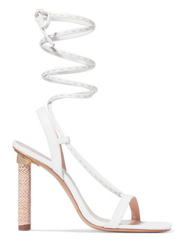 Bergamo Leather Sandals by Jacquemus