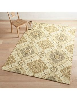 Diamond Tan Rug by Pier1 Imports