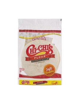 Chi Chi's Burrito Style Tortilla, Flour, 17 Oz, 8 Ct by Chi Chi's