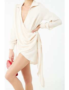Wrap Front Mini Dress by Forever 21