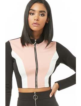 Top Court Aux Couleurs Contrastantes by Forever 21