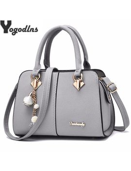 New Brand Women Hardware Ornaments Solid Totes Handbag High Quality Lady Party Purse Casual Crossbody Messenger Shoulder Bags by Yogodlns