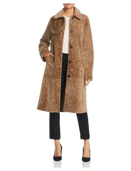 Maximilian Furs X  Lamb Shearling Long Coat   100 Percents Exclusive by Michael Kors