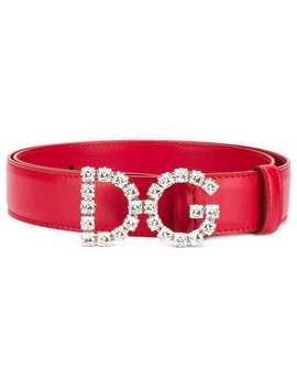 Dg Leather Belt by Dolce & Gabbana
