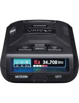 R1 Dsp Long Range Radar/Laser Detector   Black by Uniden