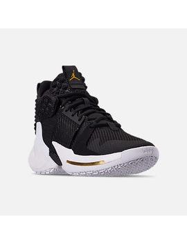 Men's Air Jordan Why Not Zer0.2 Basketball Shoes by Nike