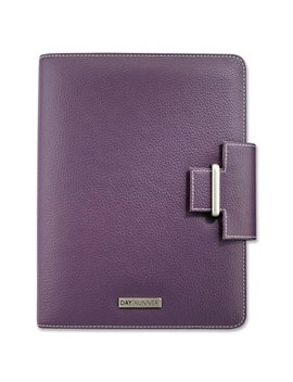 Day Runner, Drn4010214, Terramo Leatherlike Vinyl Day Planner, 1 Each, Eggplant by Day Runner