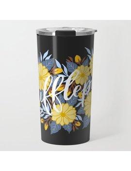 Hufflepuff Travel Mug by