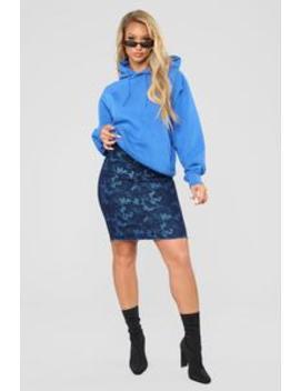 Cadet Lauren Skirt   Blue by Fashion Nova