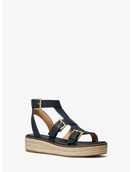 Cunningham Leather Sandal by Michael Michael Kors