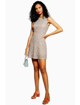 Ditsy Mesh Mini Dress by Topshop