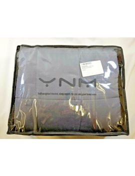 Yn M Weighted Blanket 22 Lbs (60''x80'') Gray by Yn M