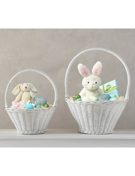 White Sabrina Easter Baskets by Pottery Barn Kids