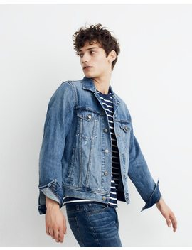 Classic Jean Jacket In Rivoli Wash by Madewell