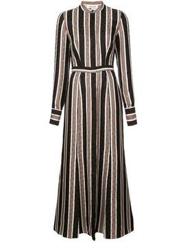 Striped Shirt Dress by Dvf Diane Von Furstenberg
