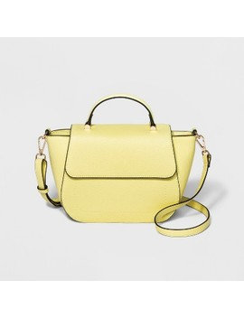 Top Handle Satchel Handbag   A New Day™ by A New Day