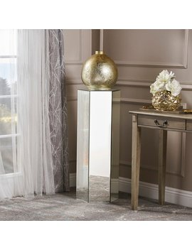 Maridel Mirrored Accent Table By Christopher Knight Home by Christopher Knight Home