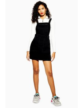 clip-buckle-pinafore-dress by topshop
