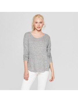 Women's Long Sleeve Cozy Knit Top   A New Day™ by A New Day
