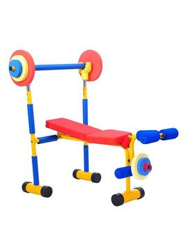 Kinbor Fun And Fitness Exercise Equipment For Kids Children Weight Bench Set by Kinbor