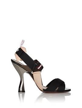 Crisscross Webbed Sandals by Fendi
