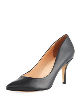 Francesca Vegetable Dyed Leather Pumps by Carrano