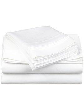 Herzig 650 Thread Count Solid 100 Percents Premium Egyptian Quality Cotton Sheet Set by Mercury Row