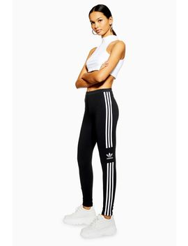 3 Stripe Trf Leggings By Adidas by Topshop