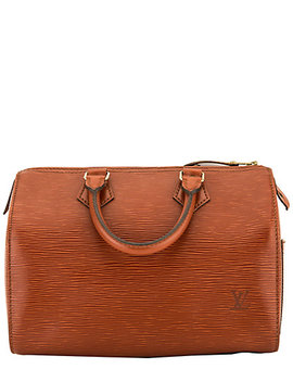 Louis Vuitton Brown Epi Leather Speedy 25 by Louis Vuitton