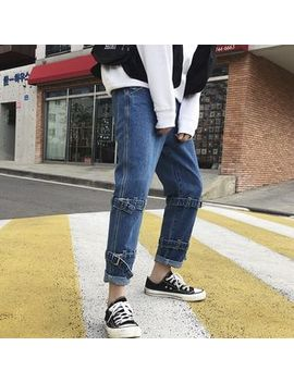 Arthur Look   Cropped Straight Cut Jeans by Arthur Look