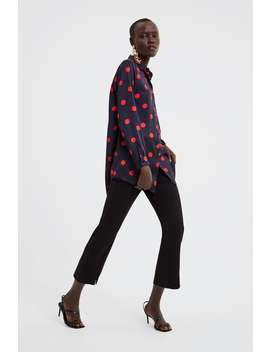 Polka  Dot Shirt View All Shirts by Zara