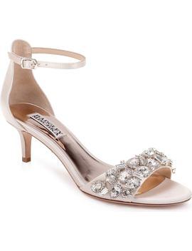 Badgley Mischka Lara Crystal Embellished Sandal by Badgley Mischka Collection