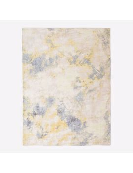 Forest Lights Rug, Pink Blush, 6'x9' by West Elm